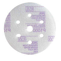 3M 50240 260L - Микроабразивный круг с креплением Hookit™, д. 150 мм, 7 отверстий, P1000
