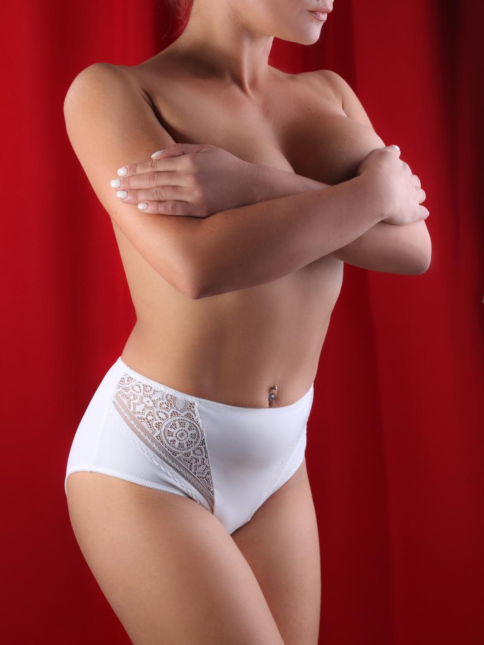 Трусики жіночі Acousma P6479H, колір Білий,  розмір L