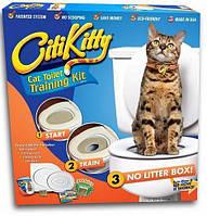 Система приучения кошек к унитазу (CitiKitty Cat Toilet Training Kit), фото 1