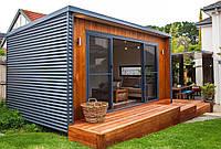 Изготовление домиков для отдыха / Модульные дома