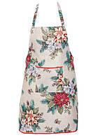 Фартук LiMaSo Рождественский букет гобеленовый новогодний 60*75см арт.EDEN481-FR.60х75