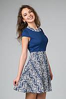 Милое летнее платье модного фасона