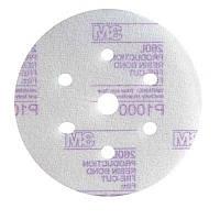 3M 50238 260L - Микроабразивный круг с креплением Hookit™, д. 150 мм, 7 отверстий, P1500