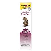 Паста для виведення шерсті для  кішок Malt-Soft Paste Extrа, GimCat, 20г