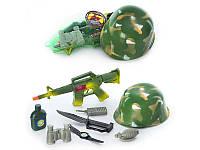 Детский игровой набор военного 8028