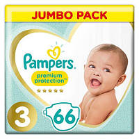 Подгузники Pampers Premium Care Dry Max Midi 3 (6-10 кг) Econom Pack 66 шт., фото 1