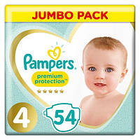 Подгузники Pampers Premium Care Dry Max Maxi 4 (8-14 кг) Econom Pack 54 шт., фото 1