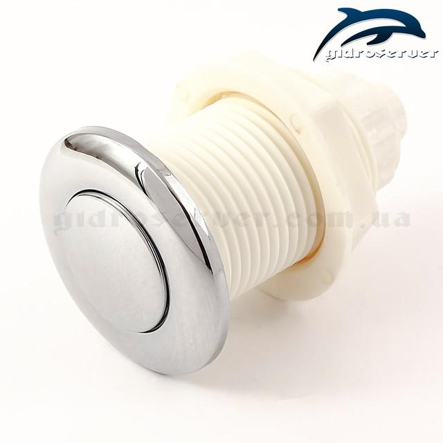 Пневмокнопка для гидромассажной ванны, джакузи ТР-01 стандартного образца.