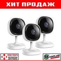 """Беспроводная IP камера Sannce 1080p FullHD 2MP WIFI """"рыбий глаз"""" с ночным режимом и датчиком движения!"""