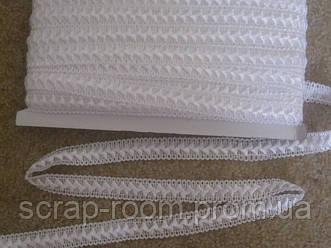 Тесьма самоса 18 мм цвет белый, тесьма самоса белая, цена указана за 1 метр