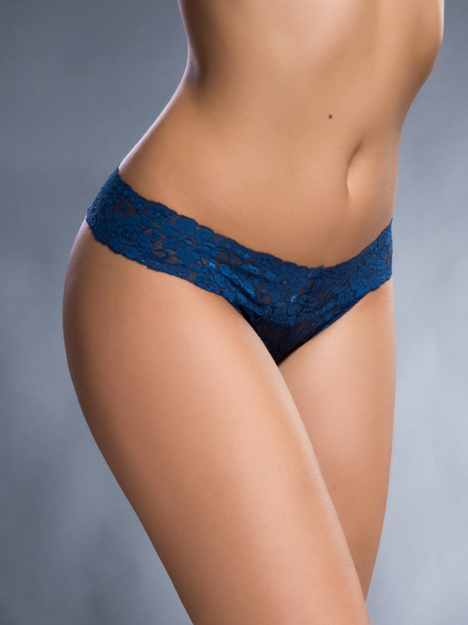 Трусики женские Acousma T6401H, цвет Темно-Синий, размер S
