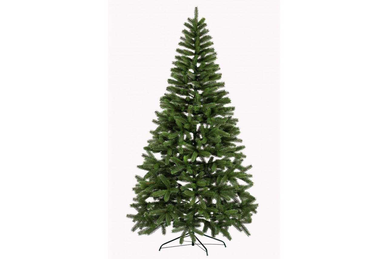 Литая елка Буковельская 2.10м зеленая