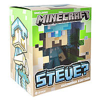Фигурка Minecraft Diamond Steve (Алмазный Стив) 6""