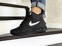 Мужские зимние кроссовки Nike Air Max 87 черные