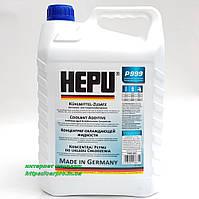Антифриз HEPU G11 синий концентрат охлаждающей жидкости P999-005  5л., фото 1