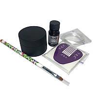Набор Kodi Professional для наращивания ногтей гелем без лампы