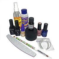 Стартовый набор Kodi Professional для наращивания ногтей гелем и маникюра гель лаком без лампы
