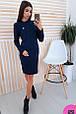 Платье женское стильное модная вязка размер универсальный 42-46 купить оптом со склада 7км Одесса, фото 5