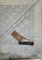 Платок Шарф  большой Серебро Louis Vuitton 150*150