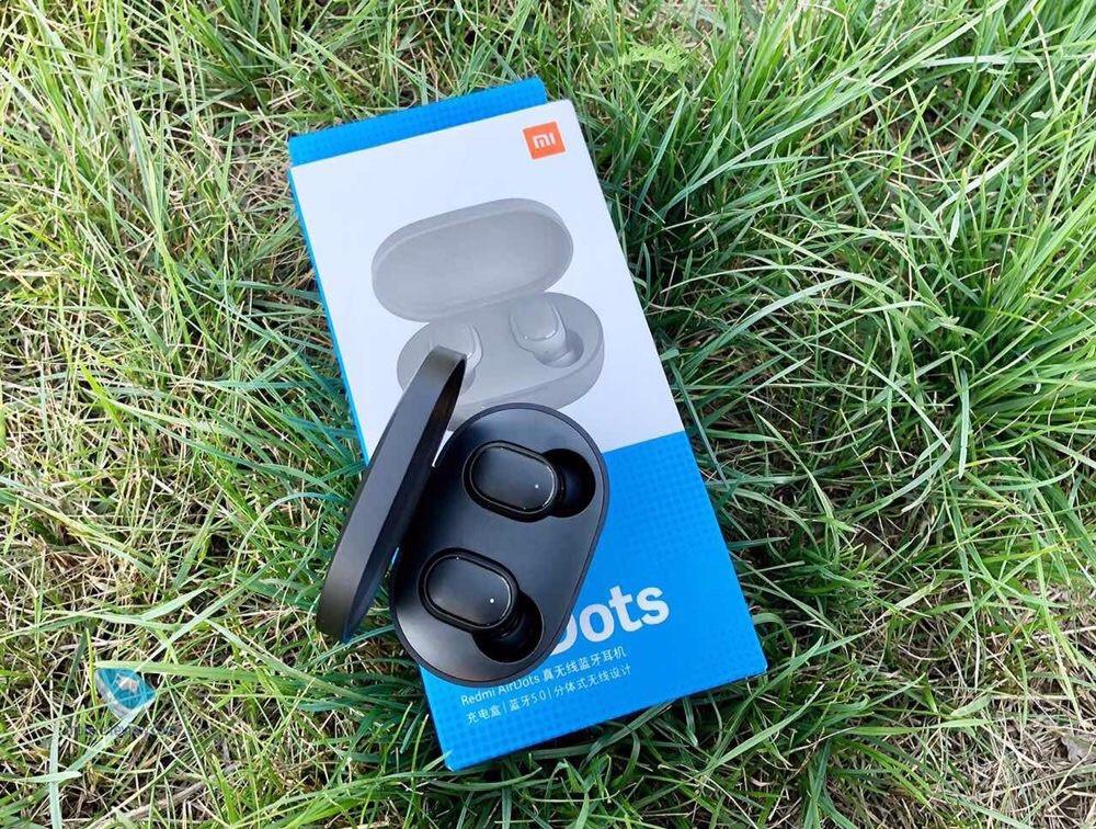 Беспроводные сенсорные наушники Xiaomi Redmi AirDots Black 100% оригинал