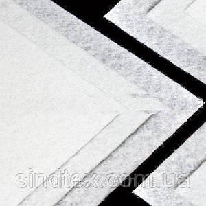 Фетр жесткий 1мм 20 х 25 см  Цена за 1 лист. Цвет - белый
