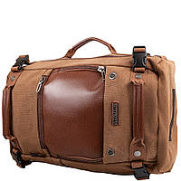 Trade-City Сумка-рюкзак мужская с отделением для ноутбука WITZMAN(ВИТЗМЭН) VT-A2020-biege