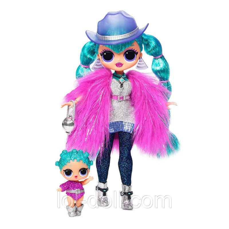 Кукла ЛОЛ ОМГ Леди-Галактика Оригинал - L.O.L. Surprise! O.M.G. Cosmic Nova Winter Disco