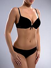 Комплект женского нижнего белья Acousma A6358-1BC-P6358H, цвет Черный, размер 75C-M
