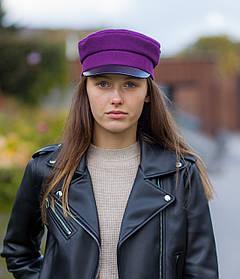 Картуз фиолетовый