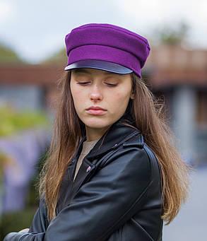 Картуз фиолетовый, фото 2