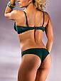 Комплект женского нижнего белья Acousma A6442BC-T6442H, цвет Темно-Зеленый, размер 85C-XL, фото 3
