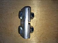 ПА 1-1 алюминиевый зажим соединительный плашечный, фото 1