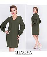 Лаконичное платье прямого кроя 42, 44,46