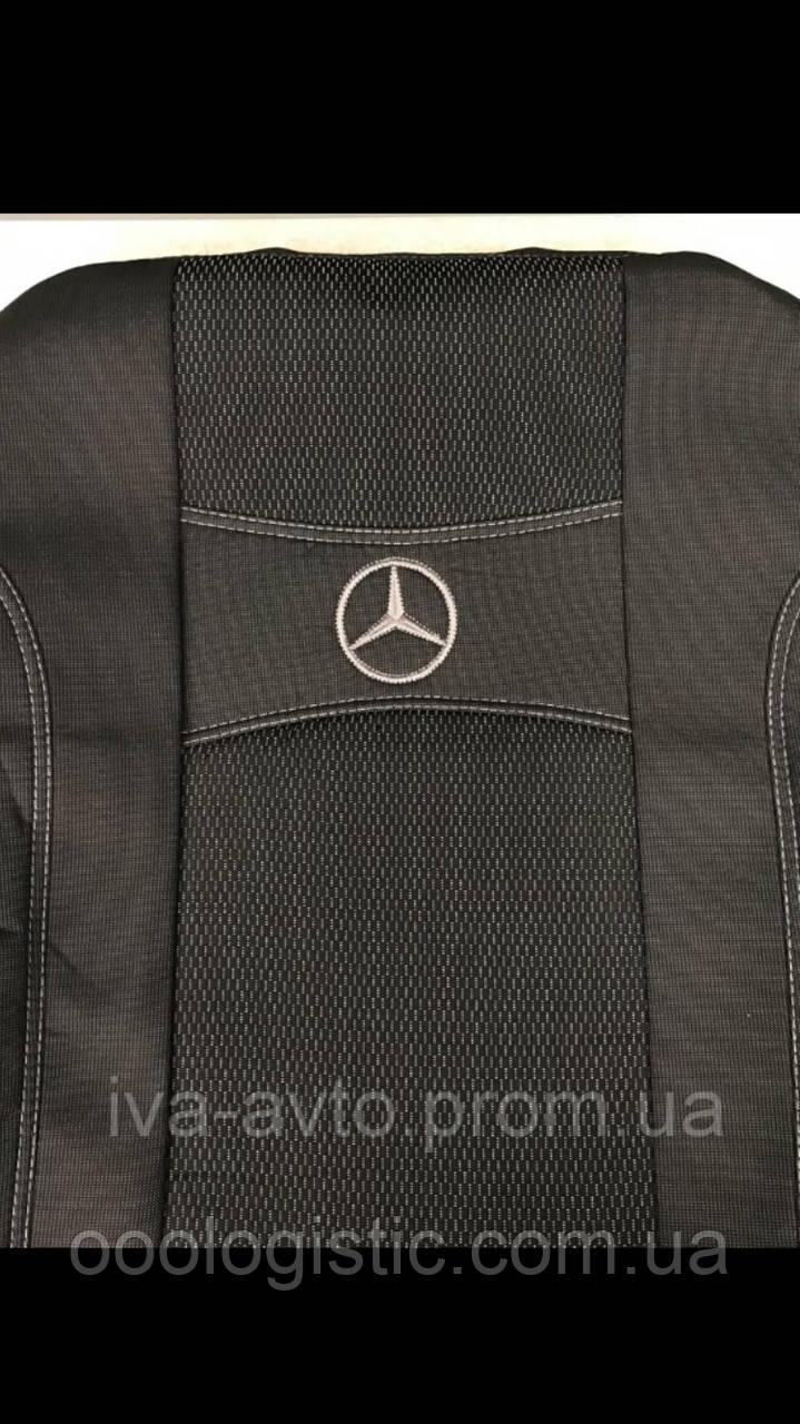 Авточехлы Mercedes Sprinter I 1+2 1995-2006 Nika  Мерседес спринтер, фото 1