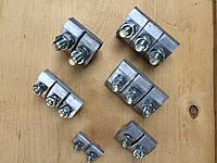 ПА 2-1 алюминиевый зажим соединительный плашечный ТУ  У 31.2-31377000-002;2009, фото 1