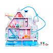 Игровой меганабор с куклами L.O.L. Surprise! Winter Disco CHALET DOLL HOUSE WITH 95+ Зимний Особняк Дом ЛОЛ, фото 2