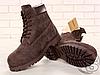 Мужские ботинки Timberland Classic Boots Brown (с мехом), фото 3