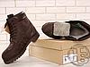 Мужские ботинки Timberland Classic Boots Brown (с мехом), фото 4