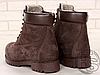 Мужские ботинки Timberland Classic Boots Brown (с мехом), фото 5