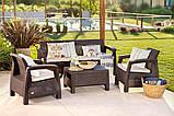 Набор садовой мебели Corfu Set Max из искусственного ротанга, фото 6