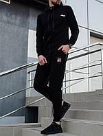 """Мужской черный спортивный костюм """"Filа"""""""