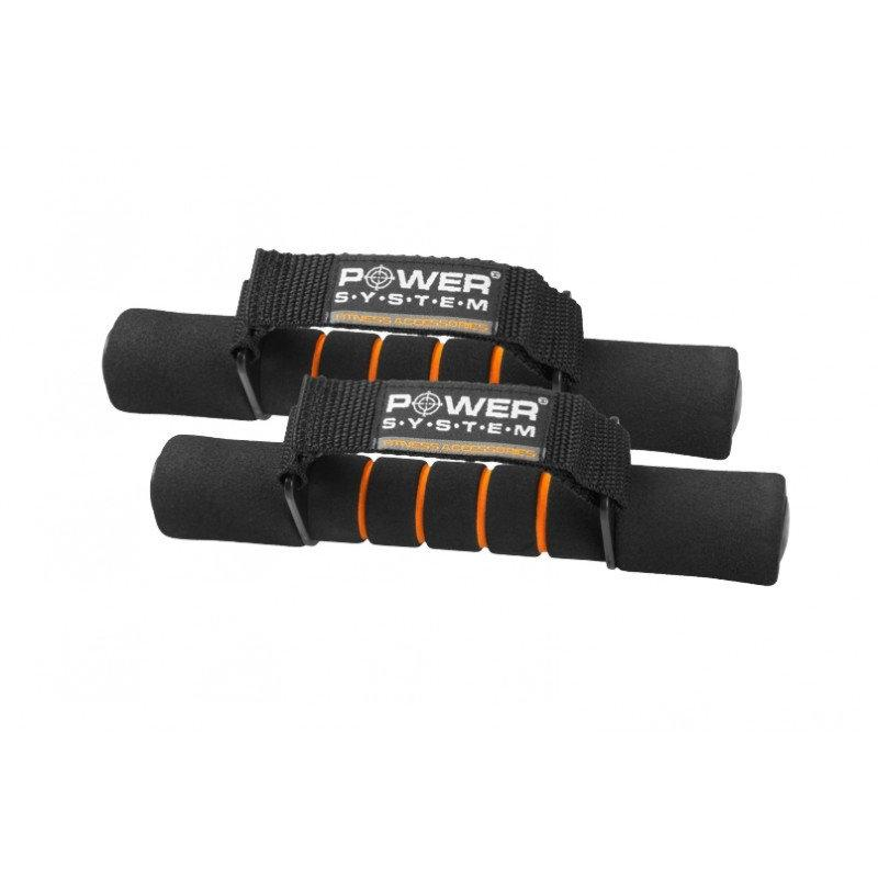 Гантели для фитнеса и аэробики в неоперене Power System 1 KG PS-4010 (пара)