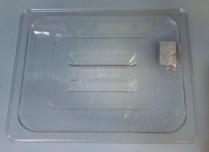 """Крышка """"GN 1/2"""" поликарбонатная для гастроемкости 325*265 мм (шт)"""