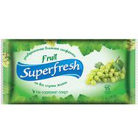 Салфетки влажные Superfresh Fruit