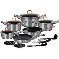 Набор посуды 15 предметов Berlinger Haus Moonlight Edition BH-6022