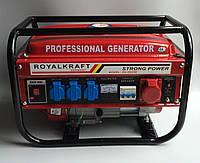 Генератор бензиновый  KRAFTECH KT 6500W
