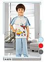 Летняя пижама для мальчиков Go Go красная: футболка и штаны (OZTAS, Турция) , фото 5