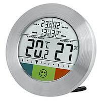 Термометр-гигрометр Bresser Temeo Hygro Circuitu silver