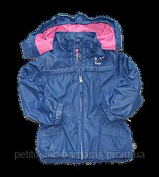 Ветровка детская для девочки синяя (QuadriFoglio, Польша)