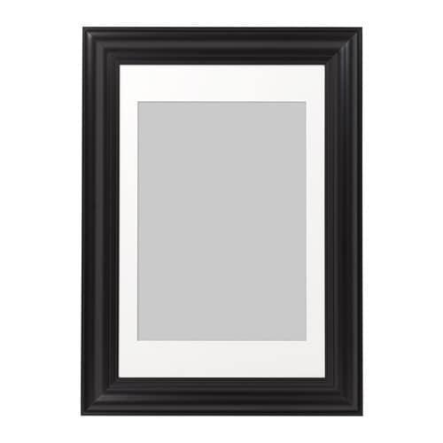 ИКЕА (IKEA) СКАТТЭБЮ, 403.098.08, Рама, черный, 61x91 см - ТОП ПРОДАЖ